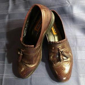 Florsheim Loafers Brown Tassel Size 10D